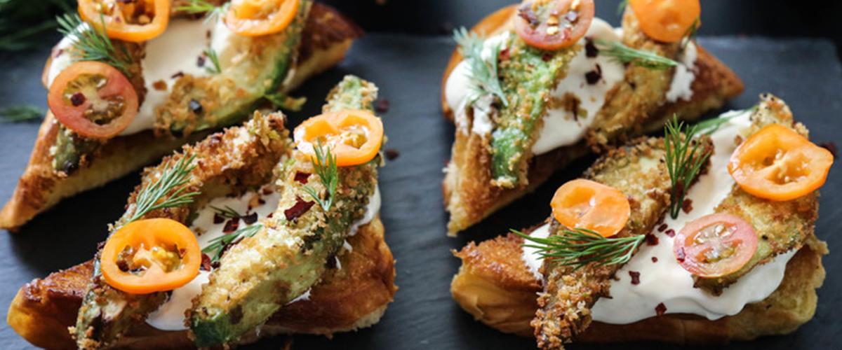 Fried Avocado Toast