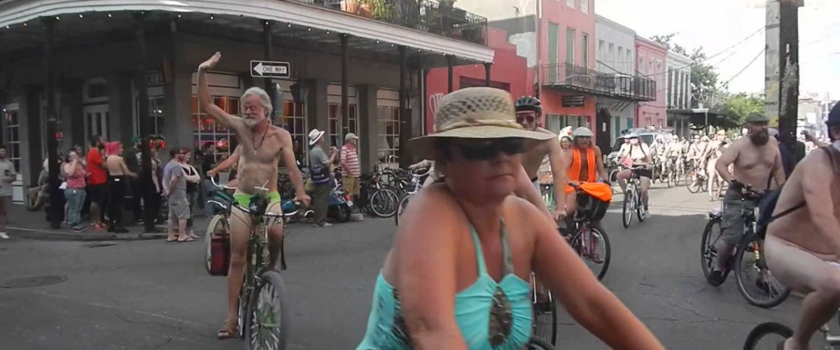 World Naked Bike Ride Returns To NOLA June 10
