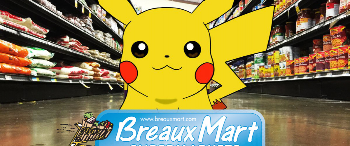 Pokemon Go Adventure At Metairie Breaux Mart On July 16