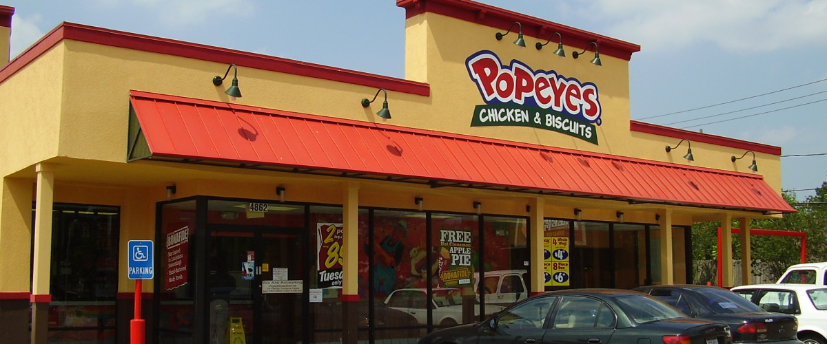 Burger King Franchise to Buy Out Popeye's Chicken for $1.8 Billion ...