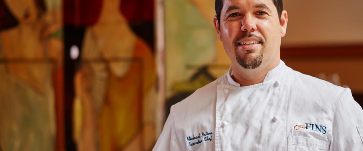GW Fins' Michael Nelson Featured on Food Network's <em>Chopped: Alton's Challenge</em>