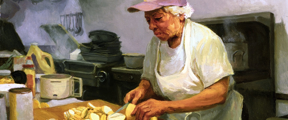 Leah Chase:  Art, Food, Music... All Those Things Make You Happy