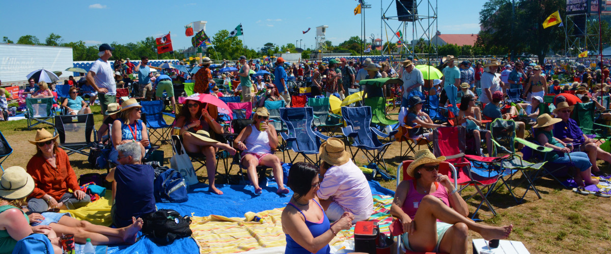 A Day in the Life of Jazz Fest...
