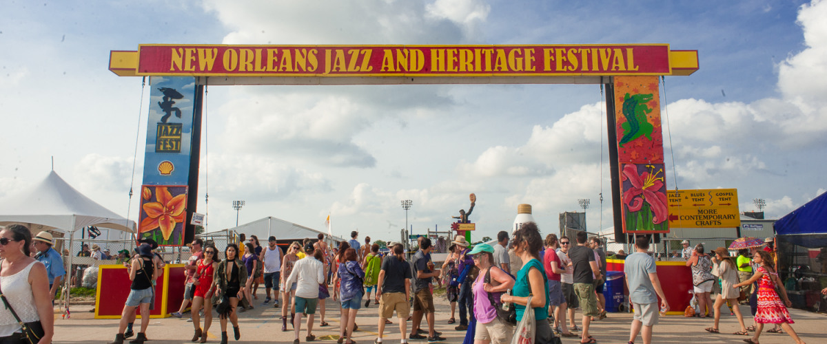 2017 New Orleans Jazz Fest Lineup Announced!