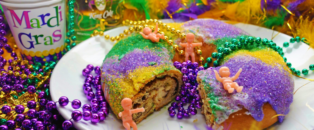 New Orleans King Cake Flavors