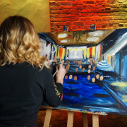 Painting With a Twist Appears on 'Undercover Boss'