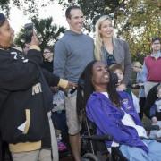 Drew and Brittany Brees Donate New Audubon Park Playground