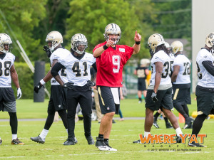 New Orleans Saints Mini Camp