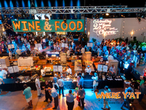 New Orleans Wine and Food Experience at Mardi Gras World