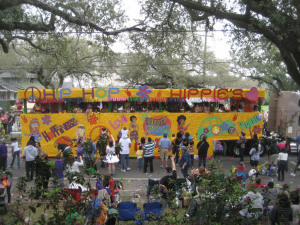 There's Nothing Like Riding On A Mardi Gras Float!