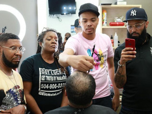Darrl Robert Talks Hair Units for Black Men