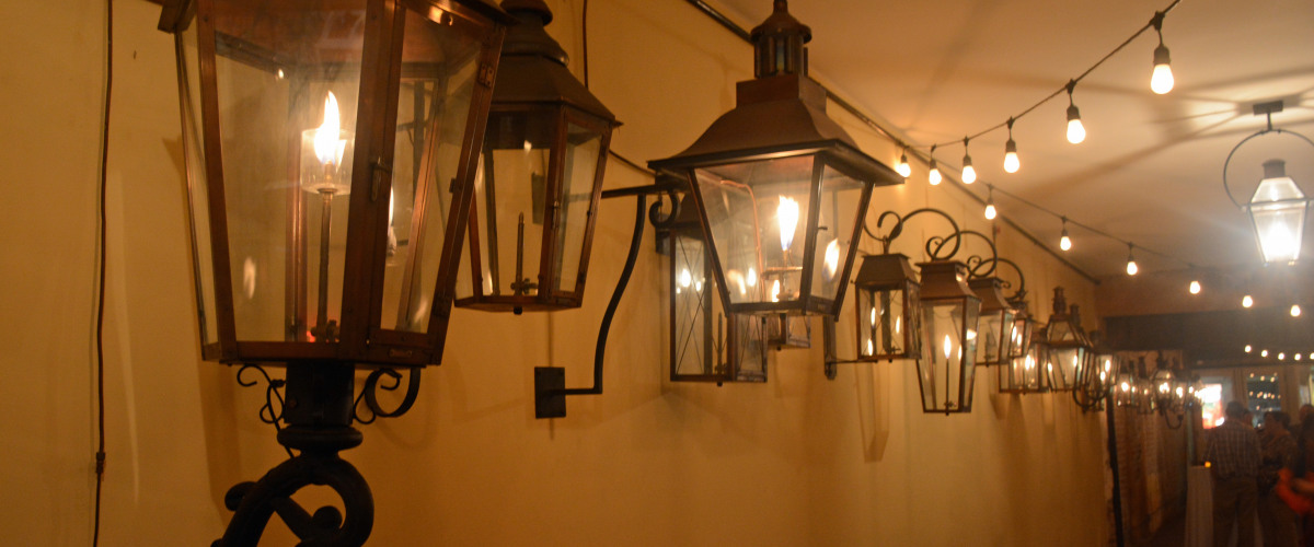 Bevolo gas electric lights toasts history