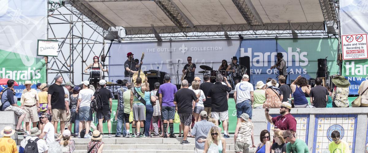 Αποτέλεσμα εικόνας για The Annual French Quarter Festival brings a record-number of music debuts