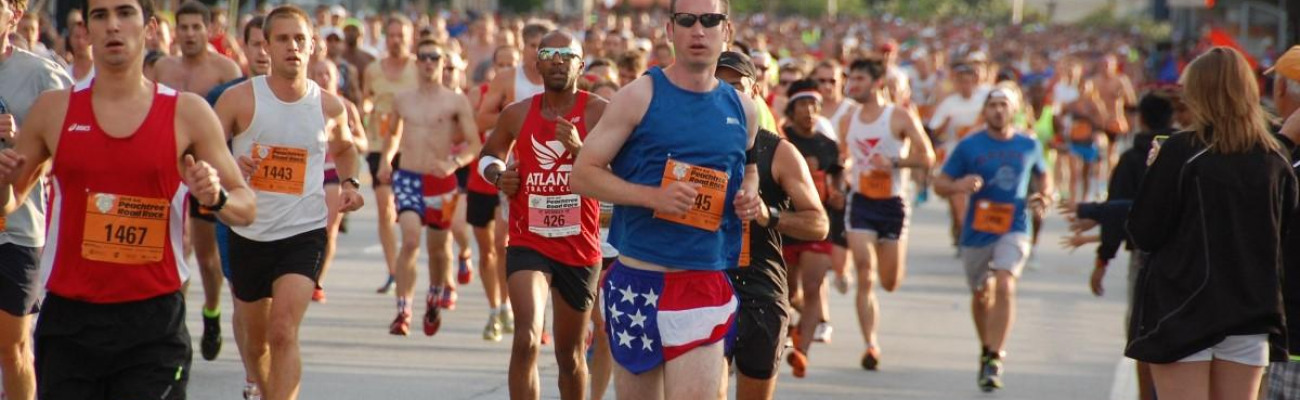 2015 AJC  Peachtree Road Race