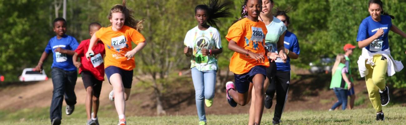 2017 Spring Kilometer Kids Fun Run & Dash - Tribble Mill