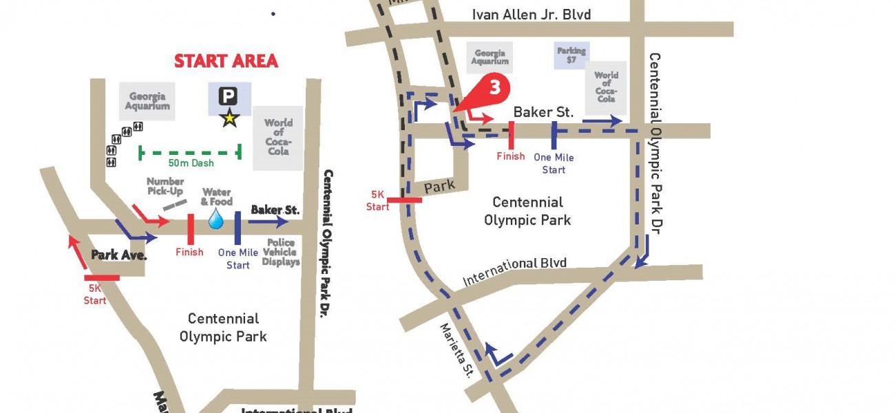 Course. Course Map   Atlantau0027s Finest 5K