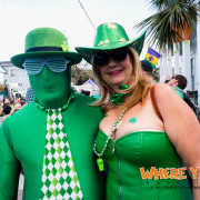 Celebrating St Patricks Day in the Irish Channel