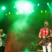 311 and Passafire Get Champions Square Properly Lit