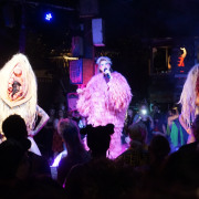 Peaches Performs at the Music Box Village