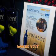Renea won BEST BARTENDER Presented by SKYY VODKA
