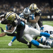 New Orleans Saints vs. Carolina Panthers (December 3, 2017)