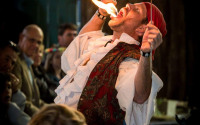 Image of Knotty Nauticals fire eating!