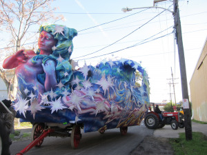 Hope Floats: Interview with Mardi Gras Float Painter Caroline Thomas