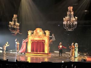 Cirque du Soleil Corteo Turns the Circus Upside Down