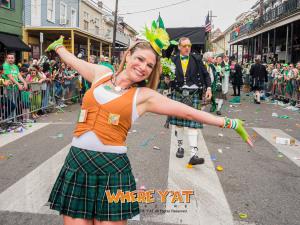 The Irish Channel Parade