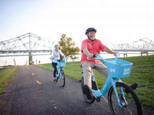 New Orleans Residents Get One Free Hour of Blue Bikes Daily All September Long
