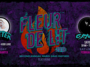 Get Fleur de Lit with Getter, G Jones at Republic NOLA This Mardi Gras Weekend