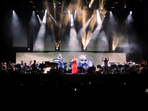 Evanescence and Lindsey Stirling Take Over Champions Square