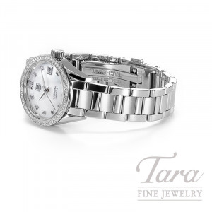 Tag Heuer 28mm Carrera Automatic, Mother of Pearl Dial, .64TDW