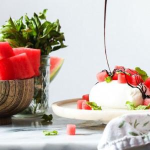 Probably This!: Watermelon & Burrata Caprese Salad