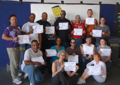 Braxton Group showing off their achievement