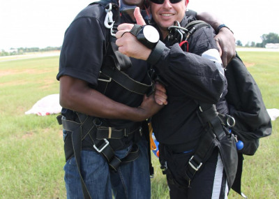 Eric and his instructor