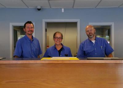 Our Service Advisors, Sam, Janice & Jason