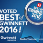 EMC Security Wins Best of Gwinnett 2016!