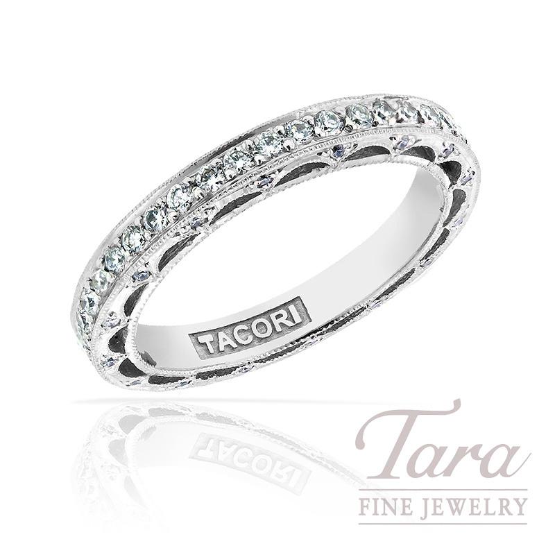 Tacori Diamond Eternity Band in Platinum, .70 TDW