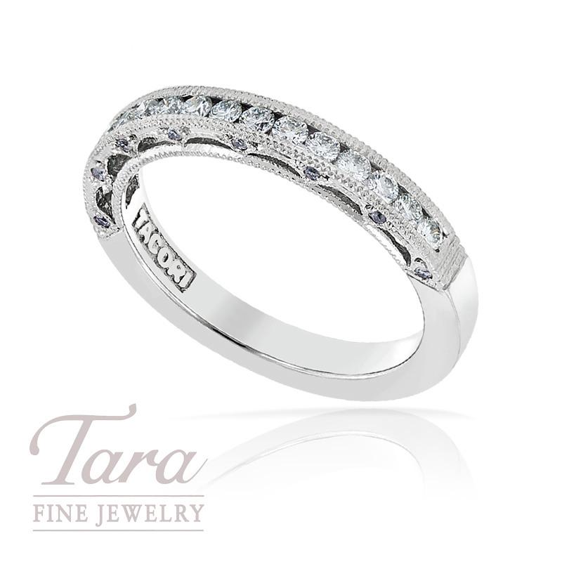 Tacori Diamond Wedding Band in Platinum, .41TDW