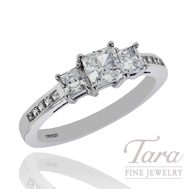 A. Jaffe Diamond Wedding Ring, 1.05 CT TW.