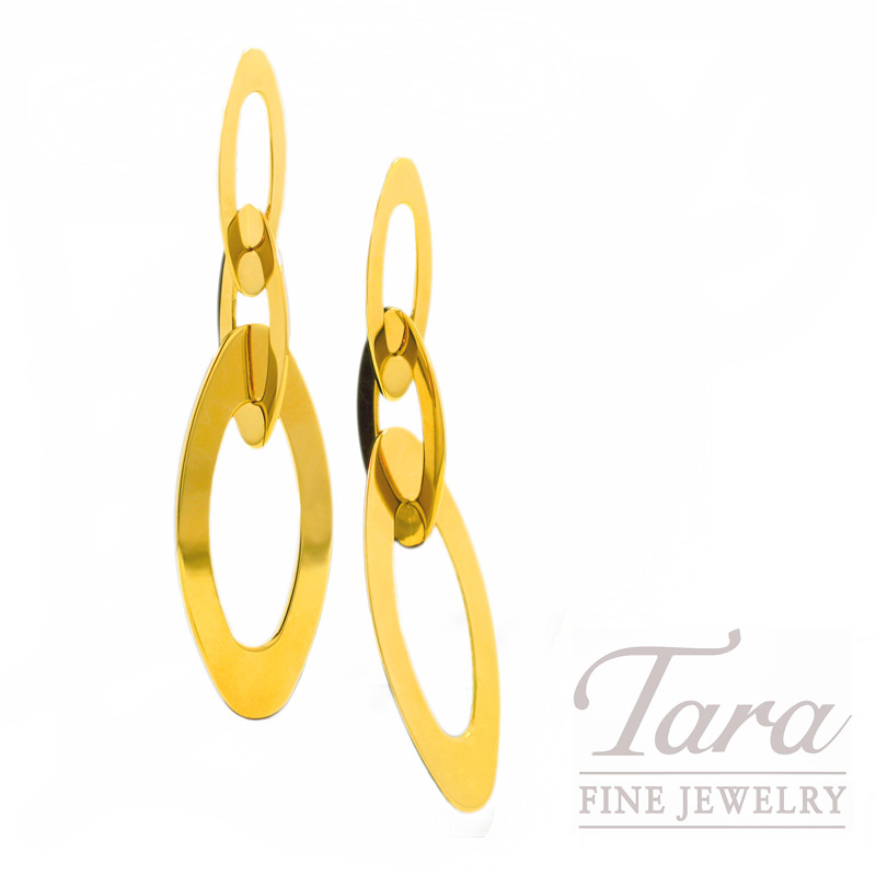 """Roberto Coin Earrings in 18kt Yellow Gold, """"Chic & Shine Collection"""""""