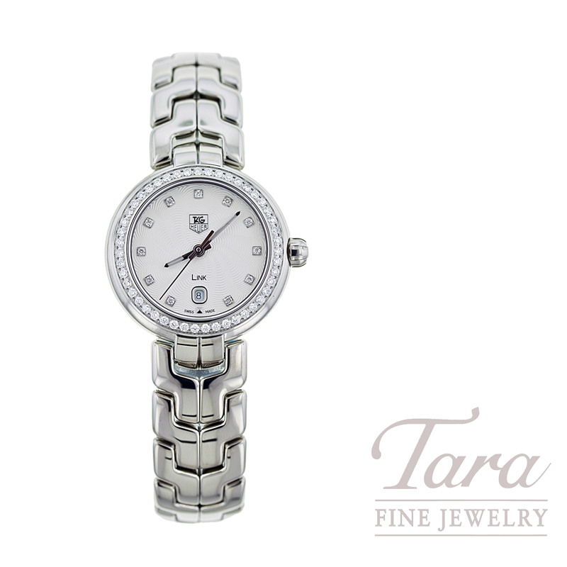 Tag Heuer Watch 29mm Link with Diamond Dial