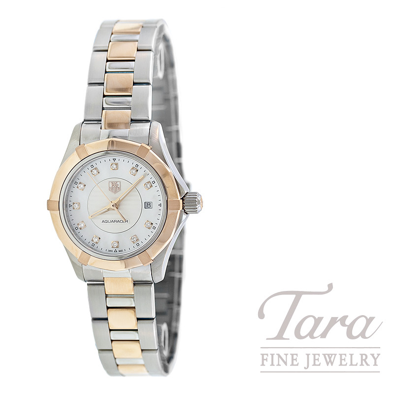 Tag Heuer Watch 27mm Aquaracer with Mother of Pearl