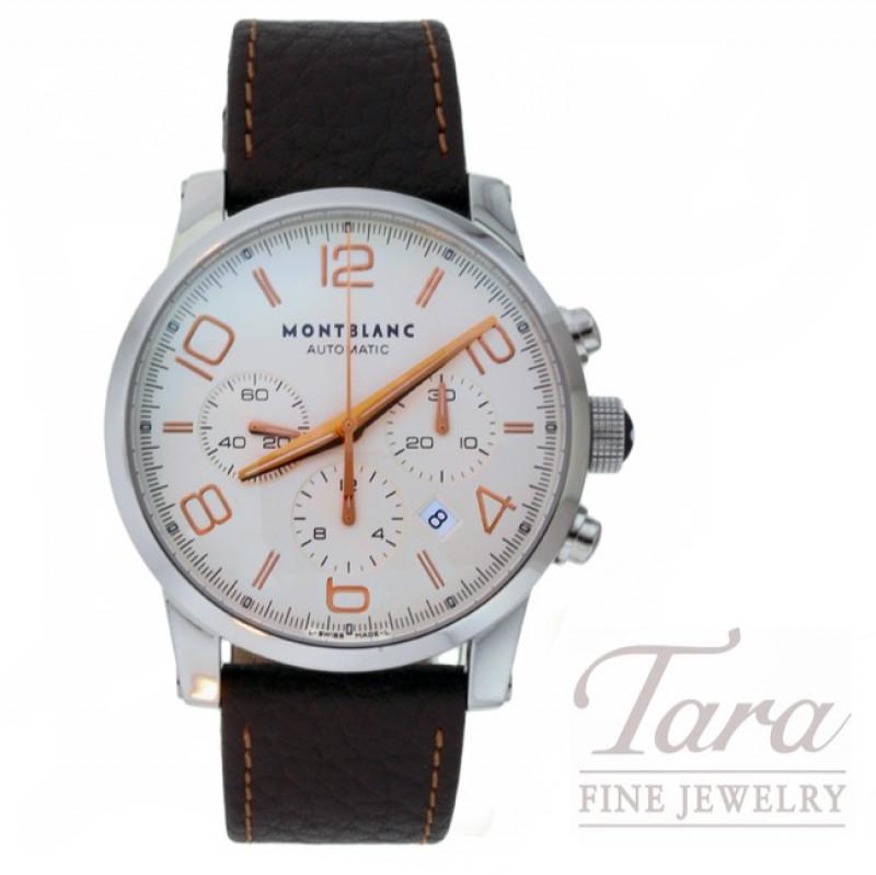 Montblanc Watch 43mm Timewalker Automatic Chronograph