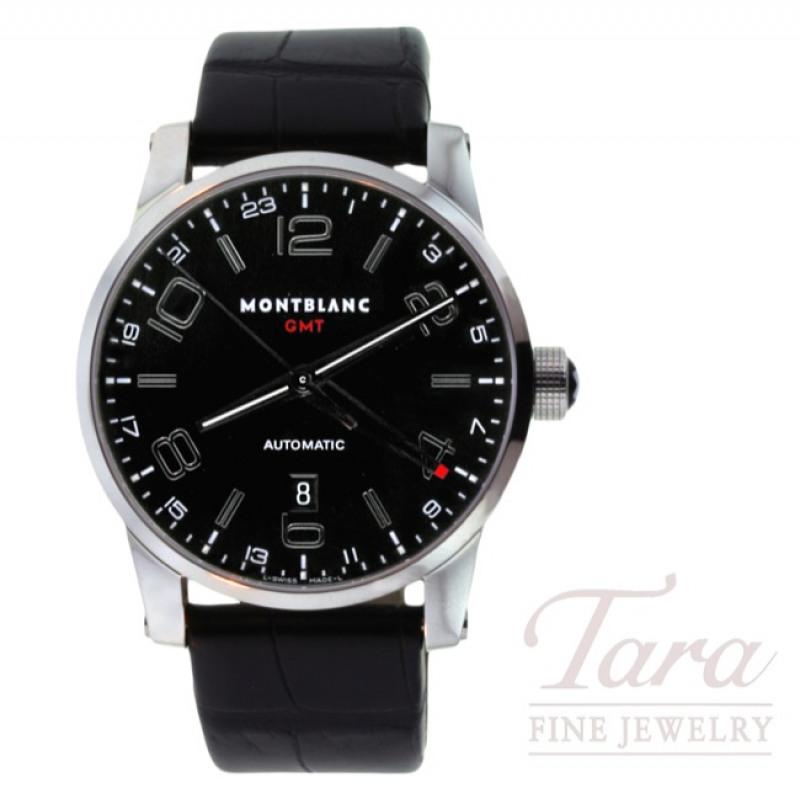 Montblanc Watch 42mm Timewalker GMT Automatic