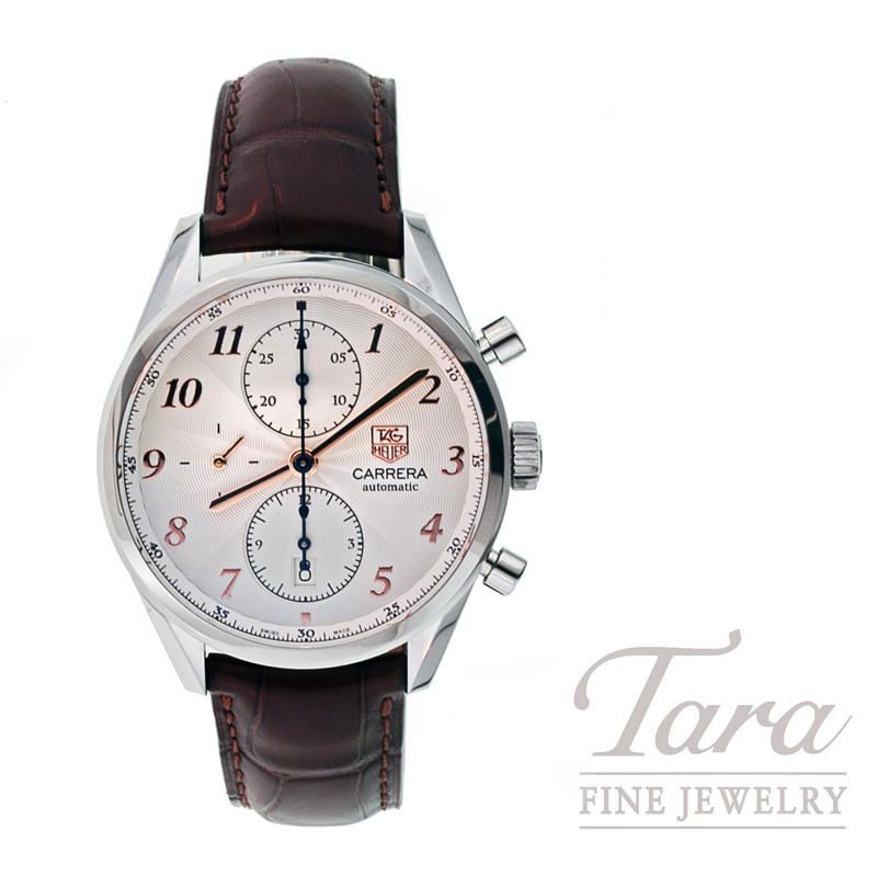 Tag Heuer Watch 41mm Carrera Chronograph
