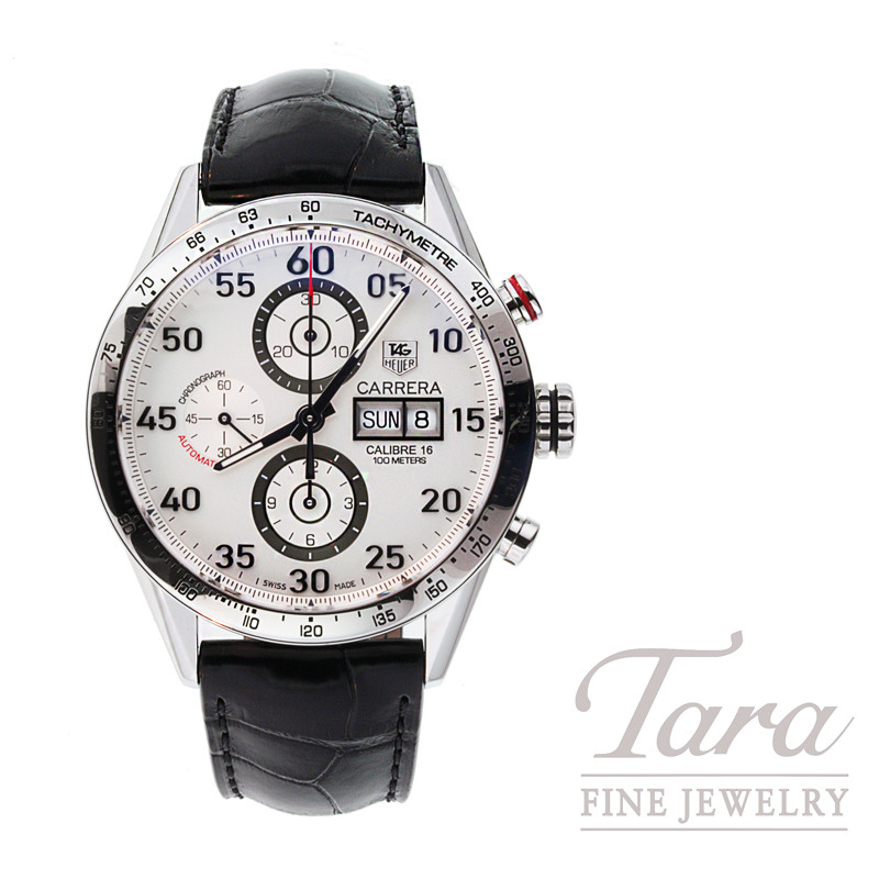 Tag Heuer Watch 43mm Carrera Tachymetre Chronograph