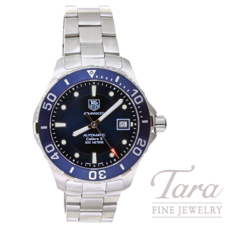 Tag Heuer Watch 41mm Aquaracer - Blue Dial