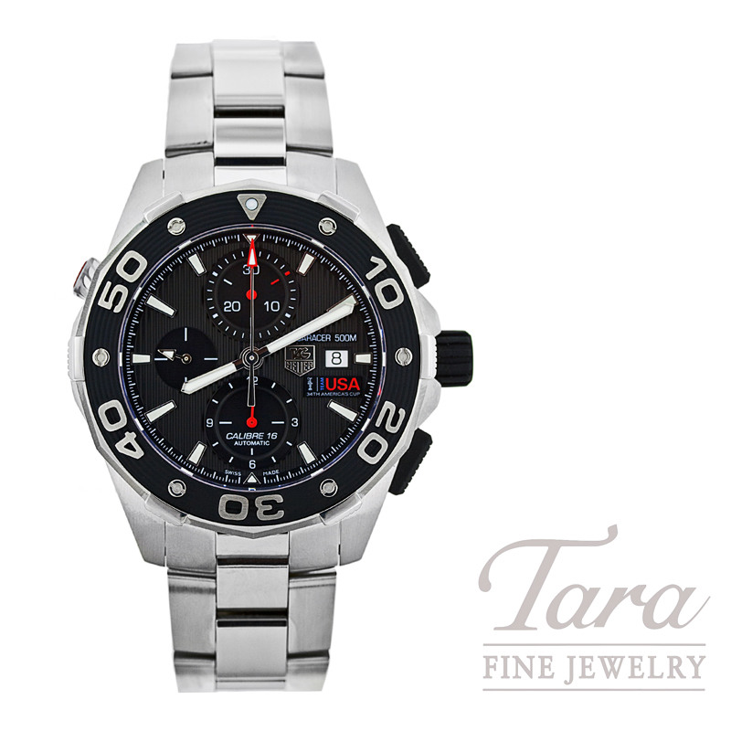 Tag Heuer Watch Aquaracer 500M Chronograph